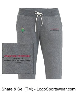Women's Jogger Sweatpants Design Zoom