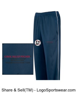 Youth Baseball-Style Team Pants Design Zoom