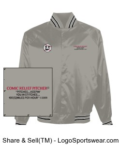 Baseball Jacket Design Zoom